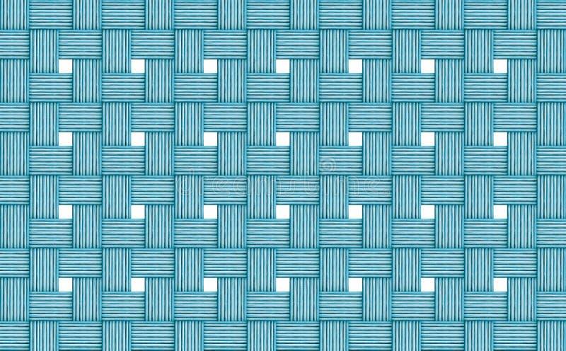 De abstracte rieten houten logboeken als achtergrond verdunnen de vensters witte lichtblauwe azuurblauwe doek van muuropeningen royalty-vrije stock afbeelding