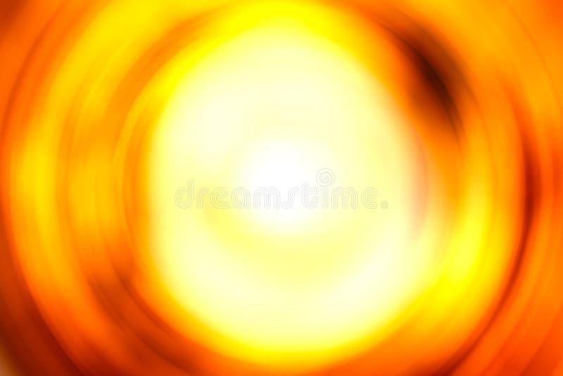 De abstracte roodgloeiende vlam van de de illustratierotatie van het brandgat stock foto's