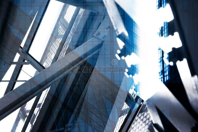 De abstracte Stadsbouw royalty-vrije stock foto's
