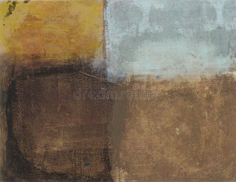De abstracte Tonen van de Aarde stock illustratie