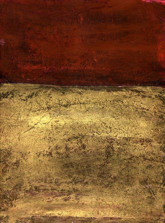 De abstracte Tonen van de Aarde royalty-vrije illustratie