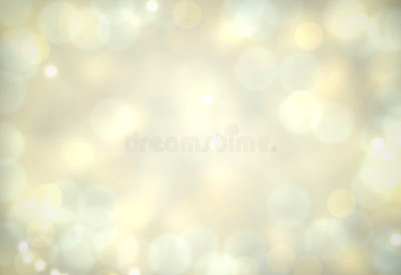 De abstracte vector beige achtergrond met glanst. royalty-vrije illustratie