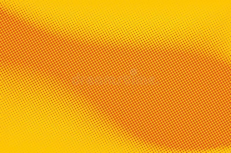 De Abstracte Vector Halftoned Achtergrond Stock Foto's