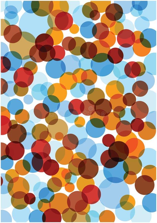 De abstracte VectorAchtergrond van Bellen royalty-vrije illustratie