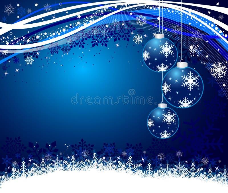 De abstracte vectorillustratie van Kerstmis stock illustratie
