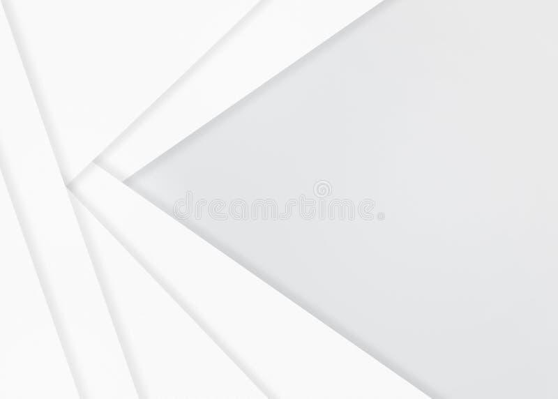 De abstracte Witboeken of Achtergrond van de Muurtextuur vector illustratie