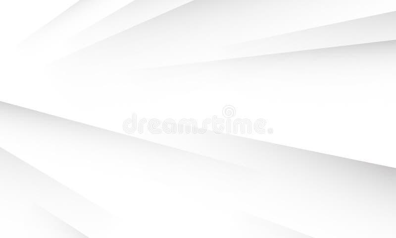 De abstracte witte achtergrond van de patroon vectortextuur stock illustratie