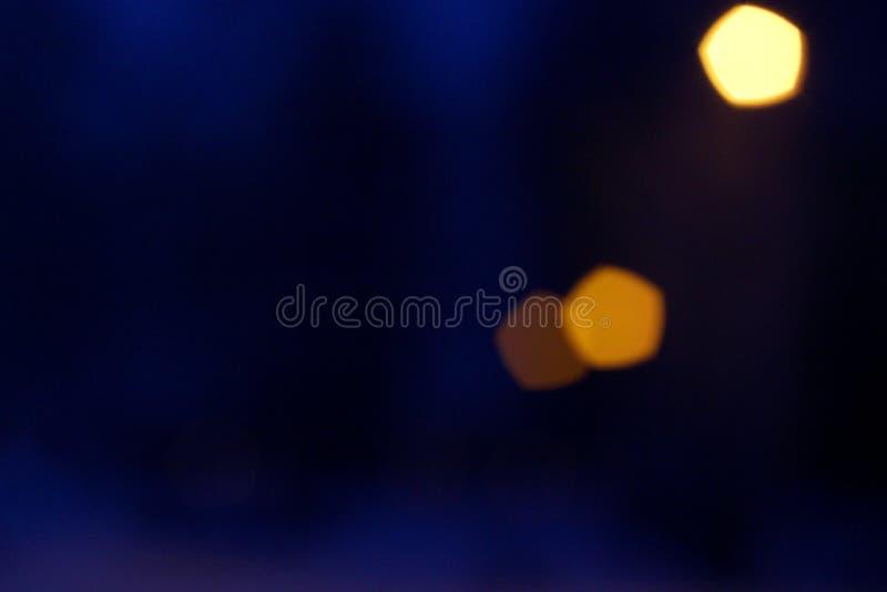 De abstractie van de nachtstad royalty-vrije stock foto's