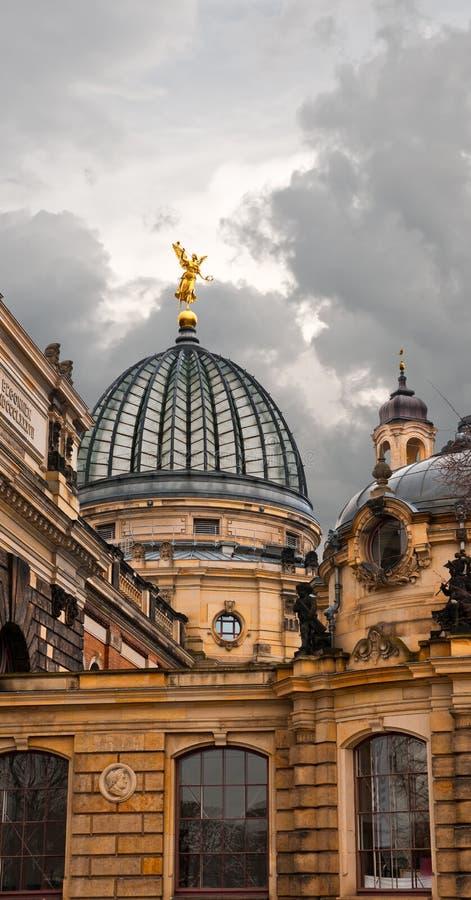 De Academie van Dresden van Beeldende kunsten royalty-vrije stock foto's
