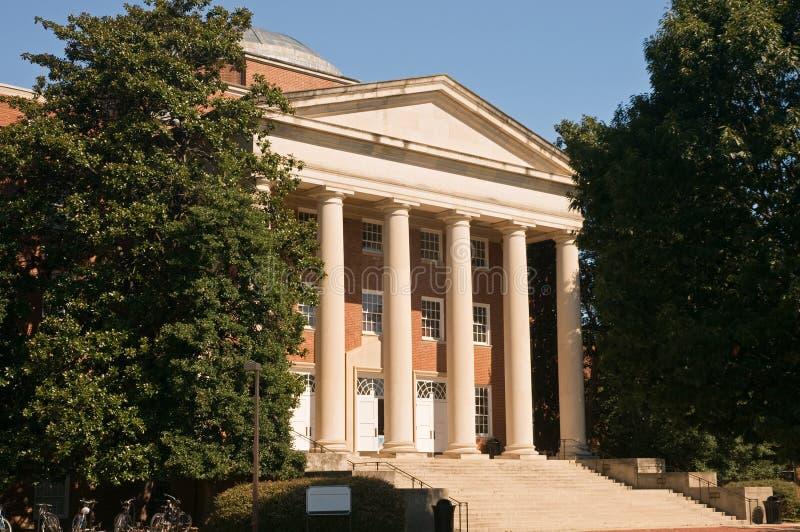 De academische bouw van de campus stock foto's