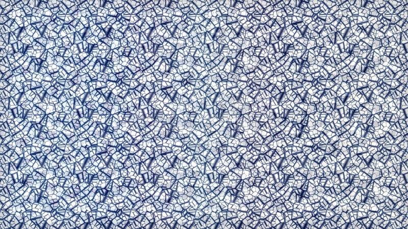 De achtergrond barstte het blauwe effect van het lijnglas stock fotografie