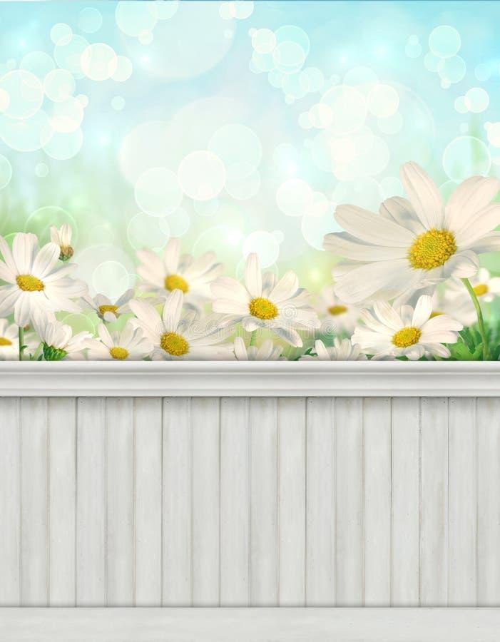 De achtergrond/de achtergrond van de de lentemuur stock afbeelding