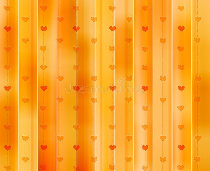 De achtergrond/de textuur van harten vector illustratie