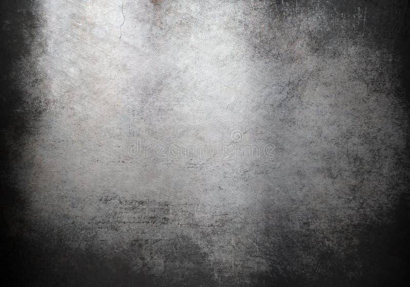 De achtergrond of de textuur van het Grungemetaal vector illustratie