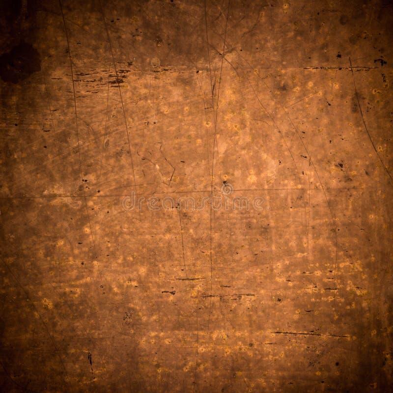 De achtergrond en de textuur van het Grungemetaal royalty-vrije stock afbeelding