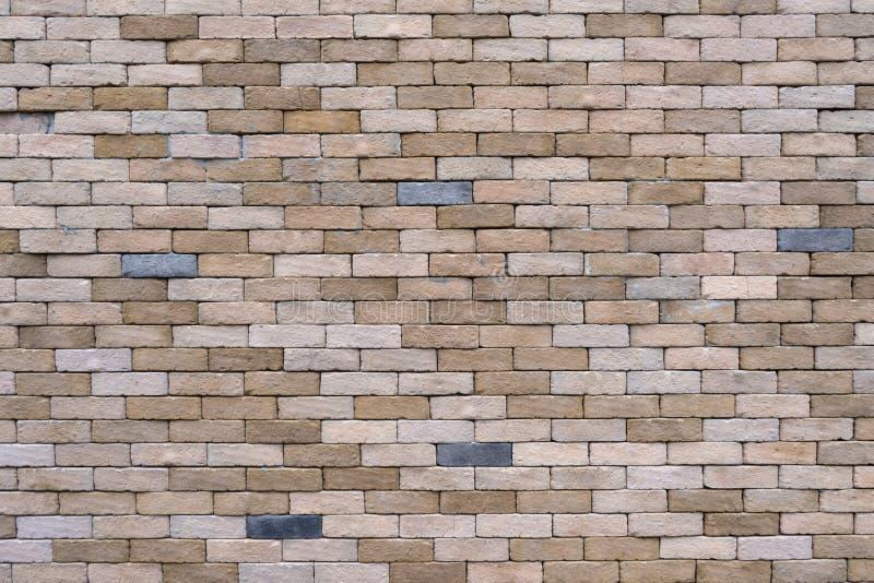 De achtergrond en de textuur van de muurbaksteen royalty-vrije stock afbeelding