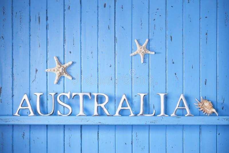 De Achtergrond van Australië royalty-vrije stock afbeelding