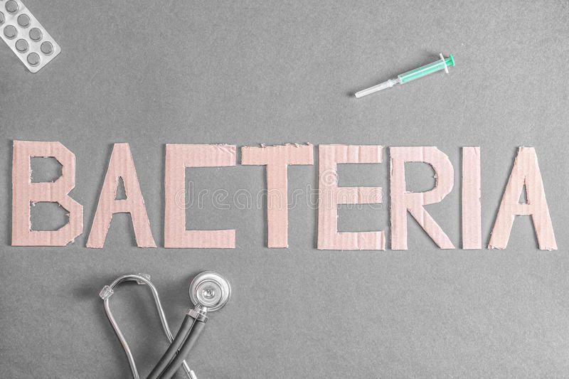 De achtergrond van bacteriën royalty-vrije stock afbeelding