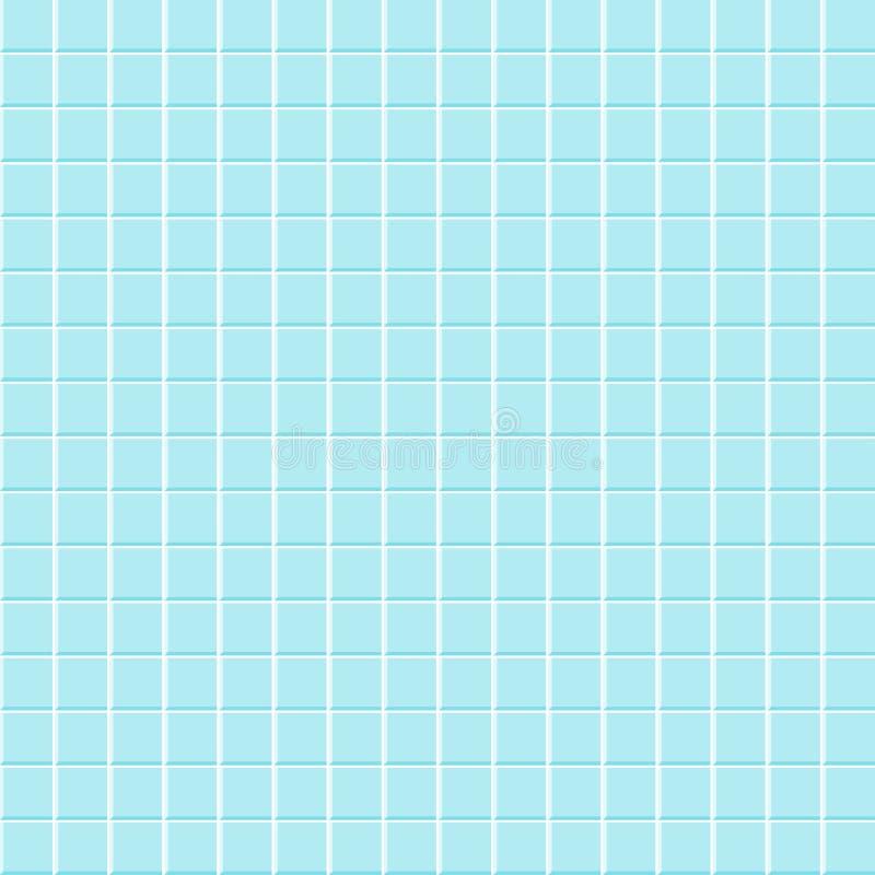 De achtergrond van de badkamerstegel vector illustratie
