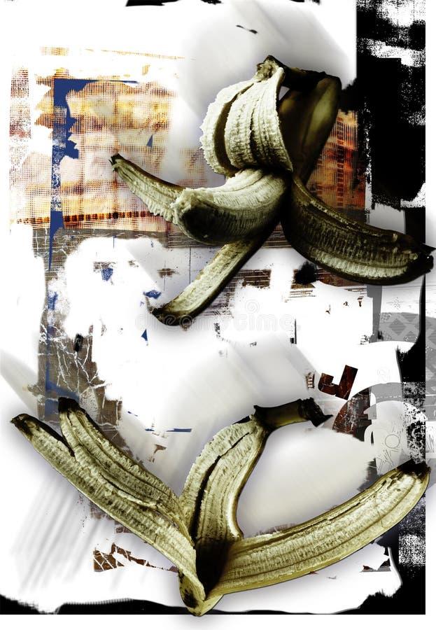 De achtergrond van bananen vector illustratie