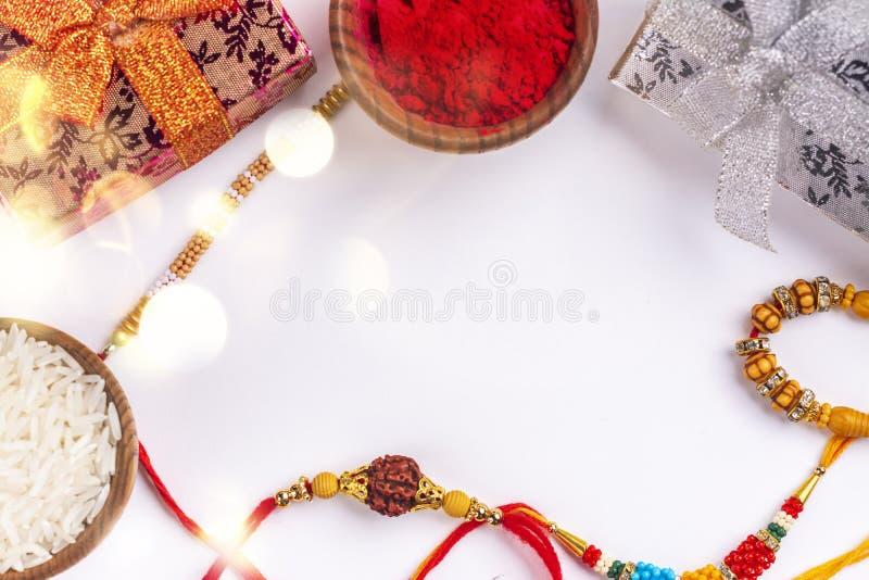 De Achtergrond van Bandhan van Raksha royalty-vrije stock afbeelding