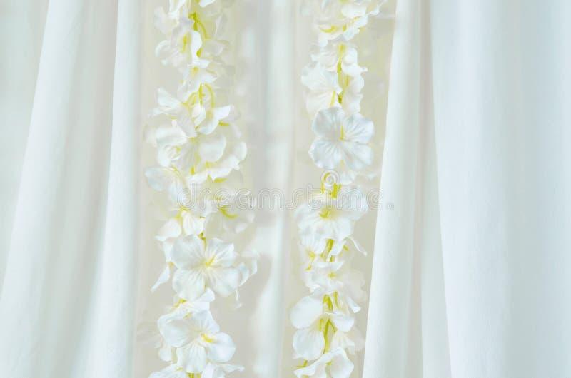 De achtergrond van de bloemdecoratie stock afbeelding