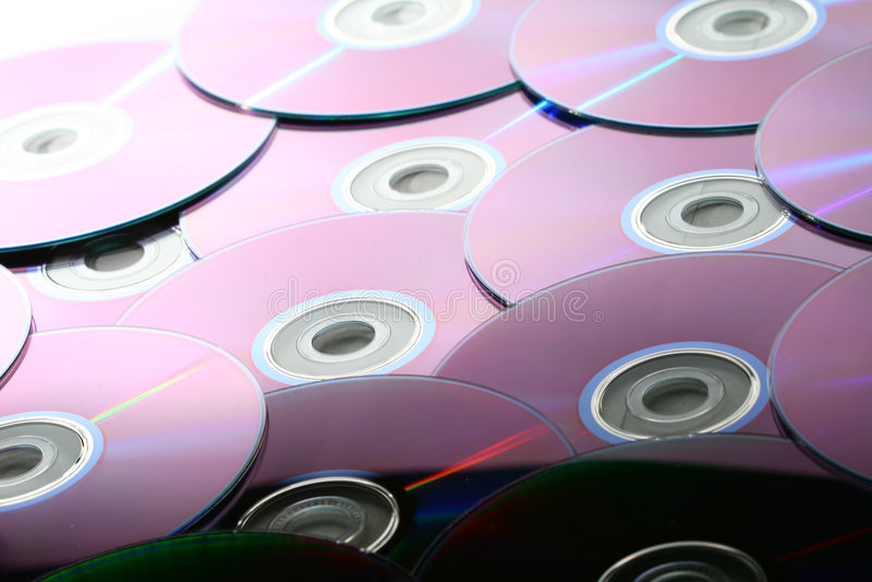 De achtergrond van CD royalty-vrije stock fotografie