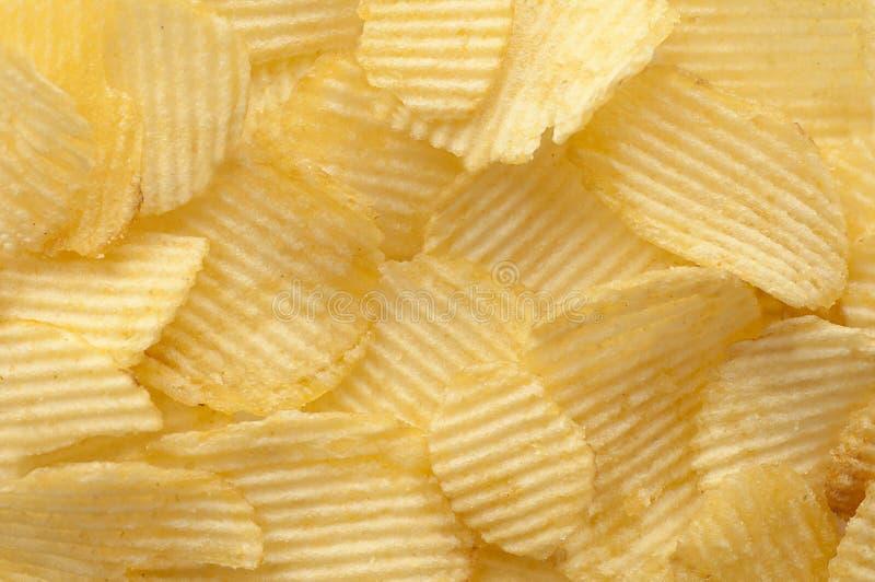 De achtergrond van chips stock afbeelding