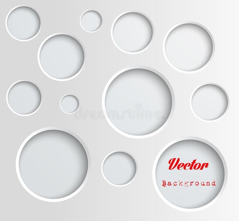 De achtergrond van cirkels vector illustratie