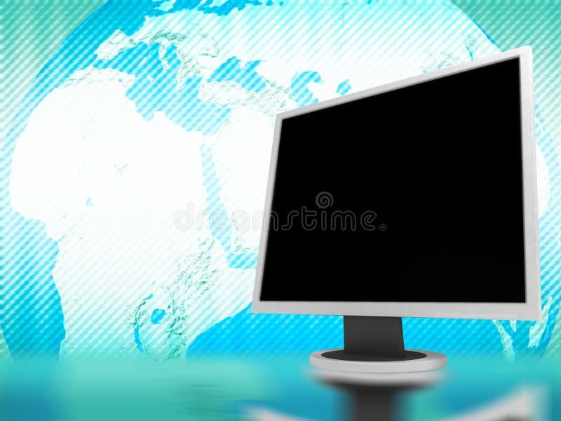 De achtergrond van computers royalty-vrije stock afbeeldingen