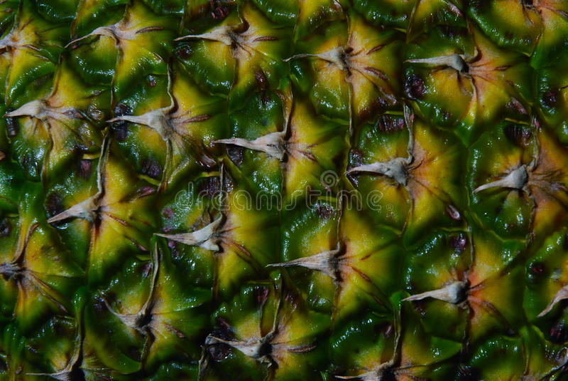De achtergrond van de ananastextuur royalty-vrije stock afbeeldingen