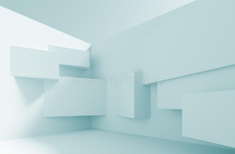 De Achtergrond van de architectuur royalty-vrije illustratie