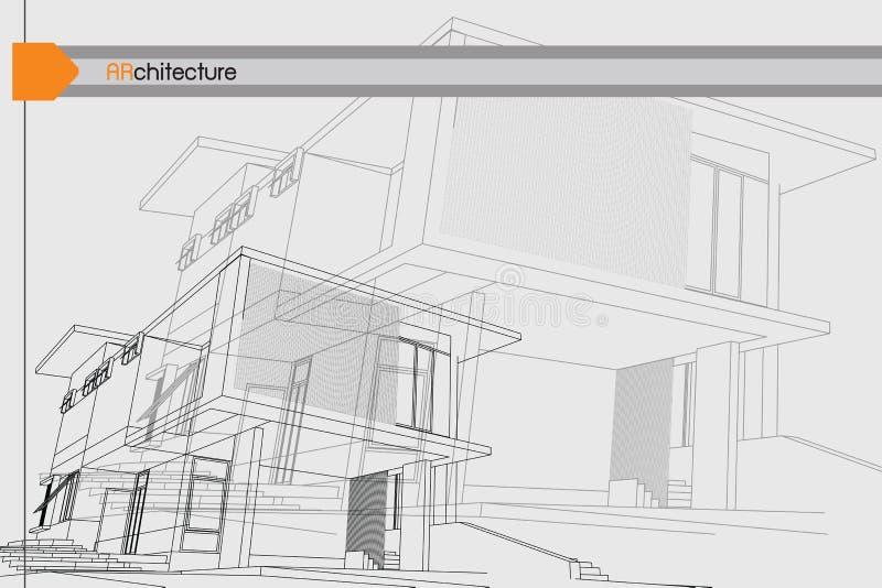 De achtergrond van de architectuur stock foto