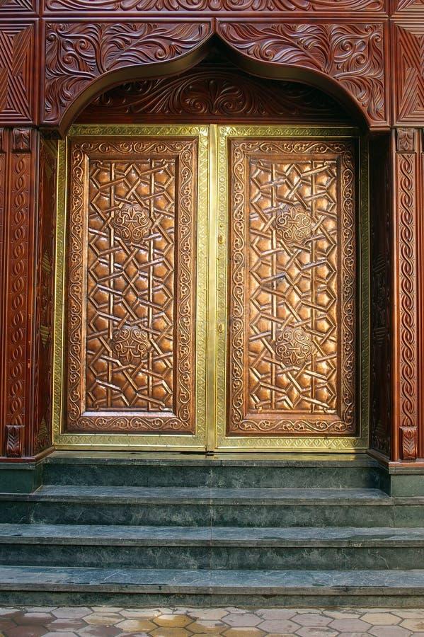 De achtergrond van de architectuur van Islamitisch Kaïro royalty-vrije stock afbeeldingen