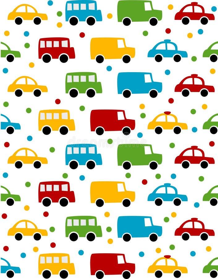 De achtergrond van de auto royalty-vrije illustratie