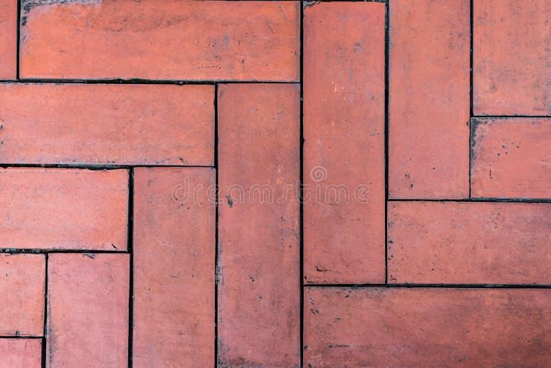 De Achtergrond van de bakstenen muurtextuur royalty-vrije stock foto's
