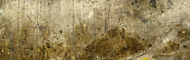 De Achtergrond van de Banner van het Panorama van de Werkbank van de Lijst van de verf royalty-vrije stock afbeelding