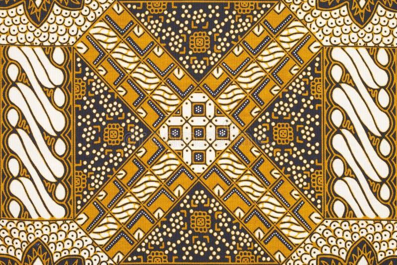 De achtergrond van de batik royalty-vrije stock foto's