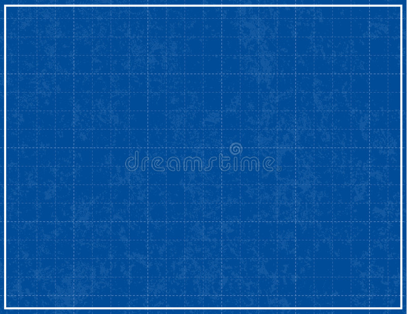 De Achtergrond van de blauwdruk royalty-vrije illustratie