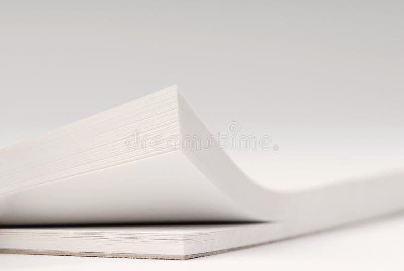 De achtergrond van de blocnote stock afbeeldingen