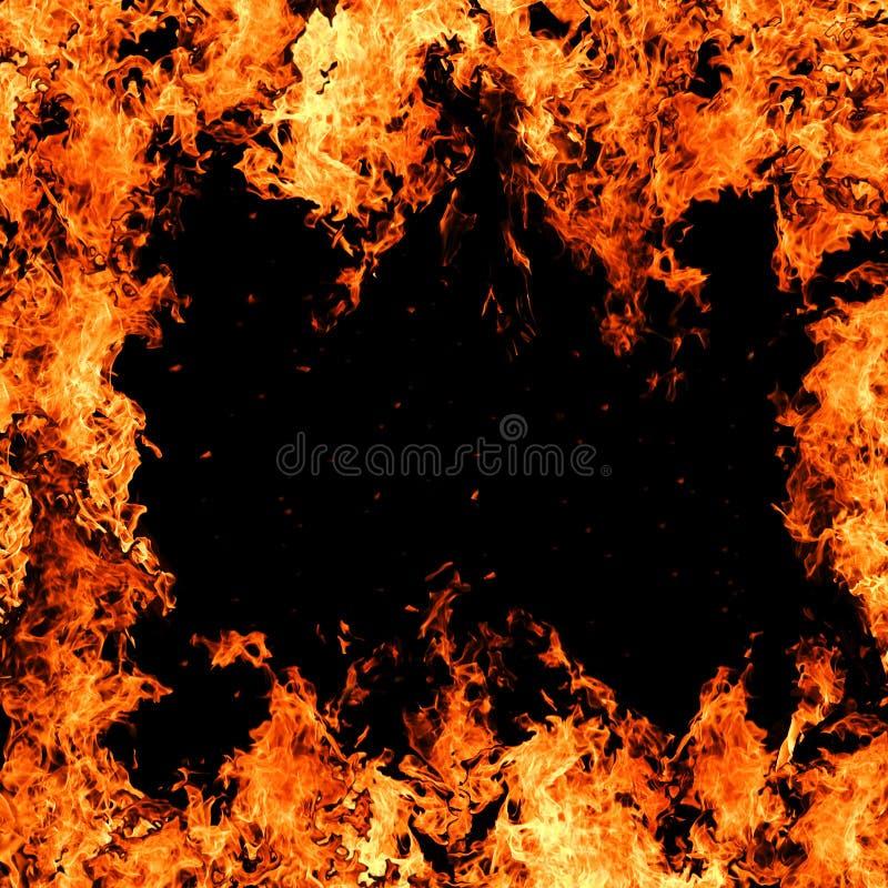 De achtergrond van de brand royalty-vrije stock afbeelding