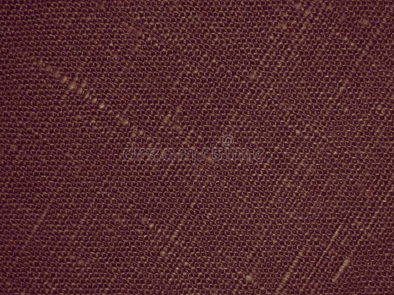 De Achtergrond van de canvaschocolade - Voorraadfoto stock afbeeldingen