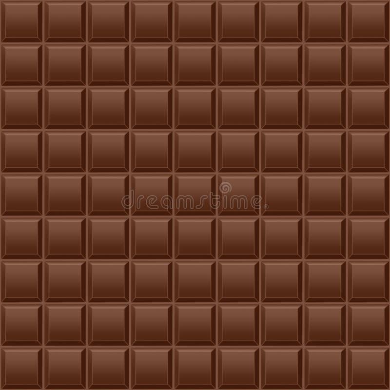 De achtergrond van de chocolade stock illustratie