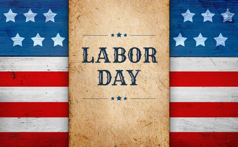 De achtergrond van de Dag van de Arbeid stock foto's