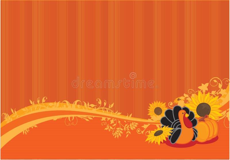 De achtergrond van de dankzegging stock afbeeldingen