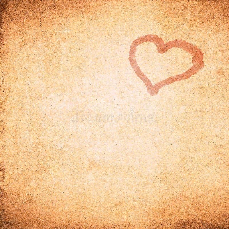 De achtergrond van de de valentijnskaartdag van Grunge stock illustratie