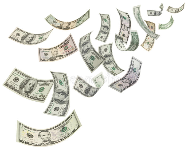 De Achtergrond van de Dollars van het geld
