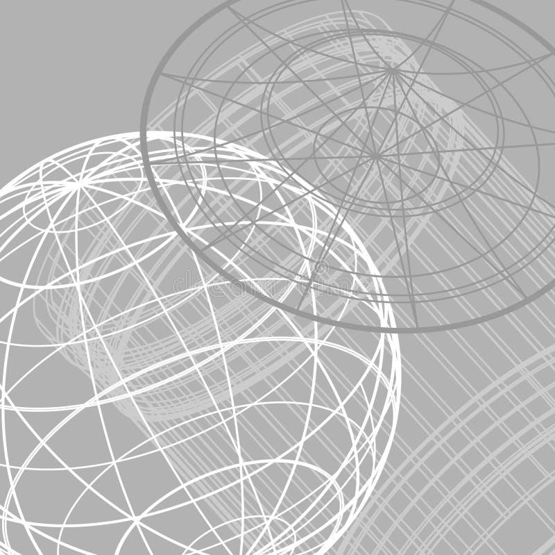 De achtergrond van de encyclopedie vector illustratie