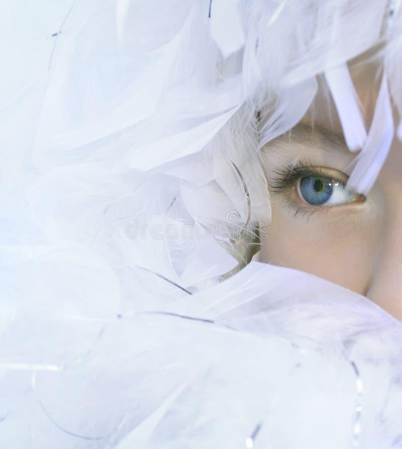 De achtergrond van de engel royalty-vrije stock afbeeldingen