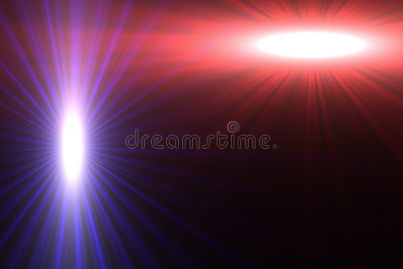 De Achtergrond van de Explosie van de ster stock illustratie